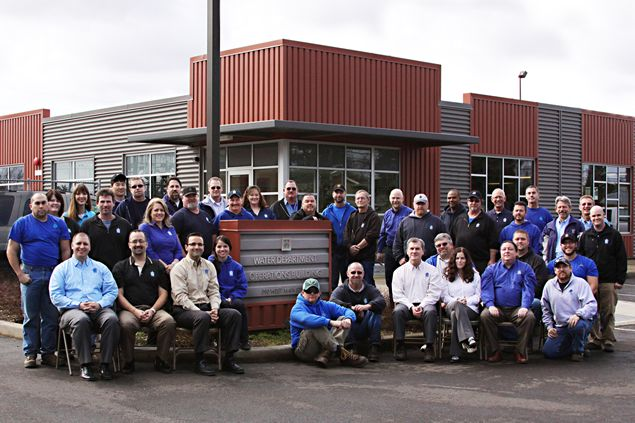 City of Hillsboro Water Department Group Photo
